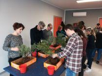 Lavori pre-bonsai al corso base